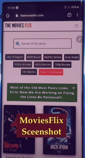 Moviesflix App