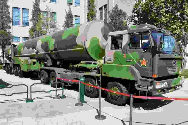 Dongfeng-21D ASBM - China's hypersonic Carrier Killer Missile