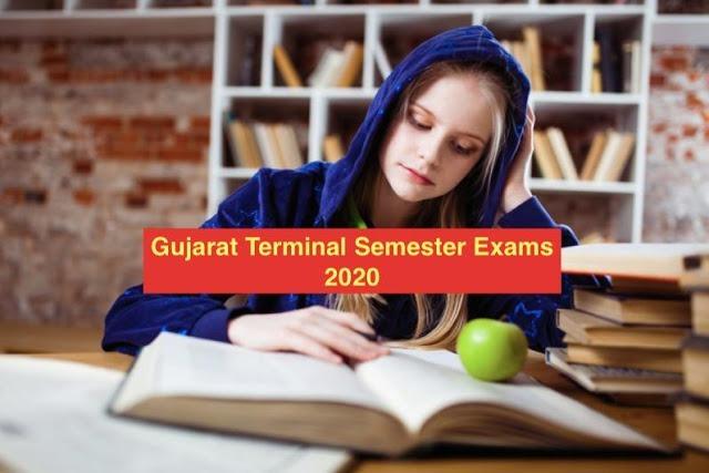 Gujarat Terminal Semester Exams 2020