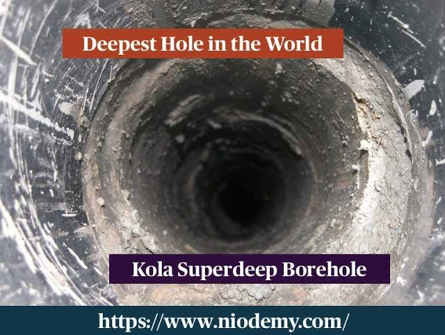 Deepest Hole in the World - Kola Superdeep Borehole