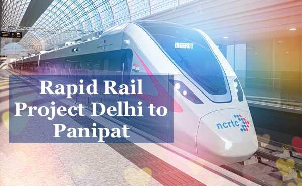 Rapid Rail Project Delhi to Panipat