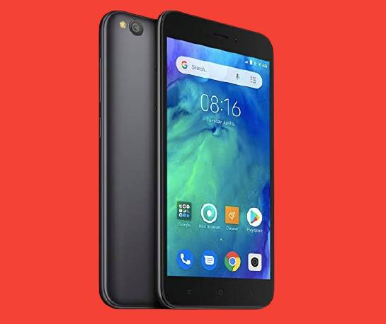Redmi Go Best Smartphone under 5000 - 1GB + 16GB