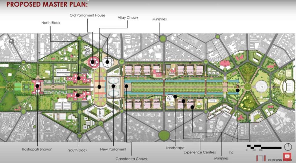 central vista project master plan