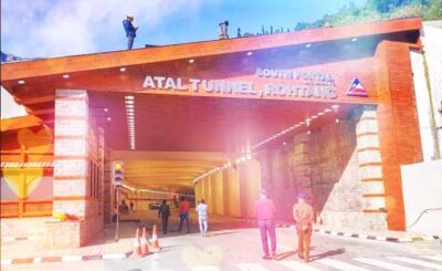 Atal Tunnel, Leh Manali Rohtang Tunnel