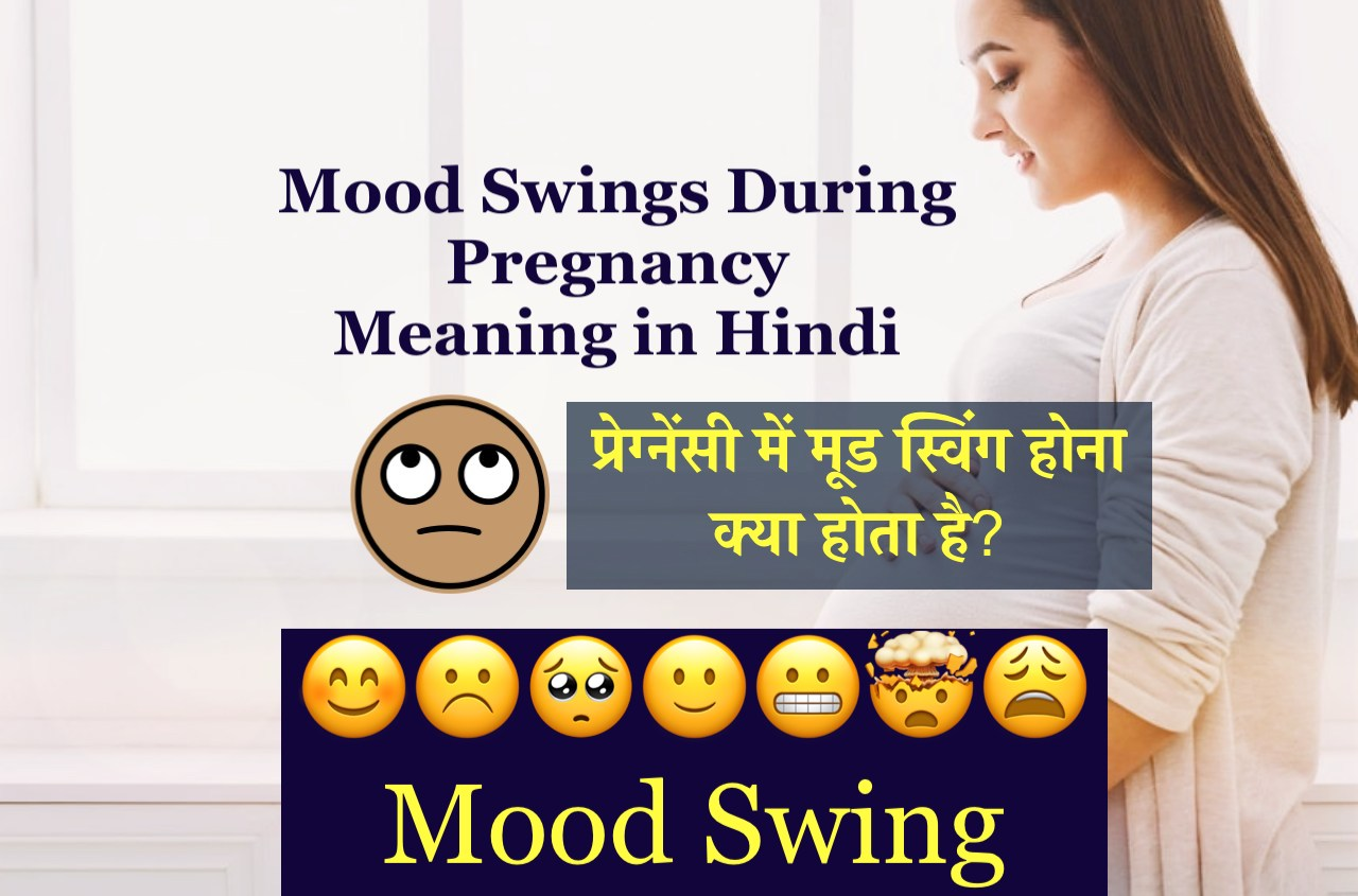 Mood Swings During Pregnancy Meaning in Hindi